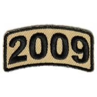 Black Desert Year Rocker Patch 2009
