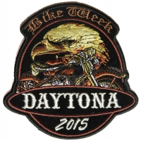 Eagle Motorcycle Daytona Bike Week 2015 Patch