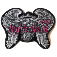 Myrtle Beach 2015 Patch Angel Wings