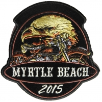 Myrtle Beach 2015 Patch Eagle Bike
