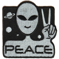 Peace Alien Fun Patch | Embroidered Patches