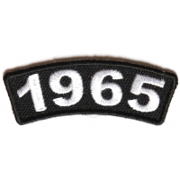 1965 Year Patch