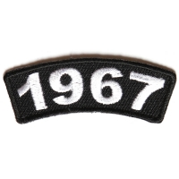 1967 Year Patch