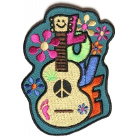 Love Guitar Cute Patch