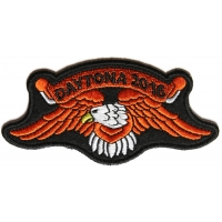 Daytona 2016 Orange Eagle Patch For Daytona Bike Week