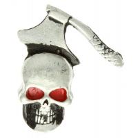 Axed Skull Pin