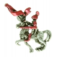 Red Knight Pin