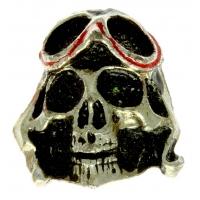 Pilot Skull Pin