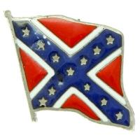 Rebel Confederate Flag Pin