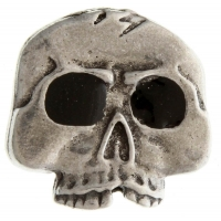 Funky Skull Black Eyes Pin