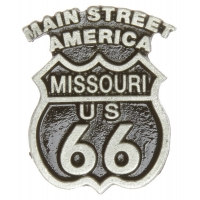 Route 66 Missouri Pin
