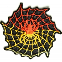 Spider Web Patch | Embroidered Patches