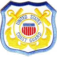 Coast Guard Emblem Patch | US Coast Guard Military Veteran Patches