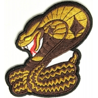 Cobra Patch  | Embroidered Patches