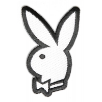 Bunny With Bow Patch | Embroidered Patches