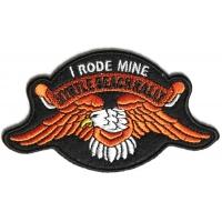 Myrtle Beach I Rode Mine Orange Eagle Patch