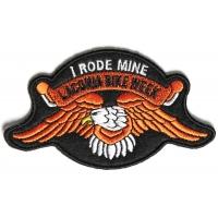 Laconia I Rode Mine Orange Eagle Patch