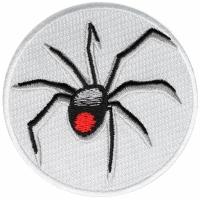 Black Widow Spider Iron on Patch