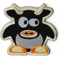 Cute Cow Iron on Patch