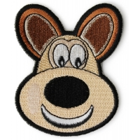 Cute Doggy Iron on Patch