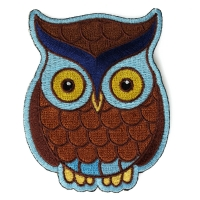 Cute Owl Iron on Patch