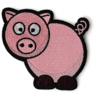 Cute Piggy Iron on Patch