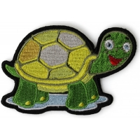 Cute Turtle Iron on Patch