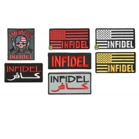 Infidel Patches Set Of 7 | Embroidered Patches