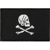 Pirate Skull And Cross Bones Flag Patch