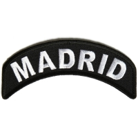 Madrid City Patch