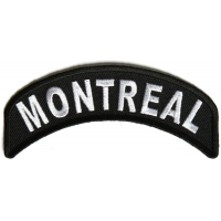 Montreal City Patch