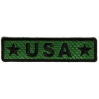 USA Black And Green Patch