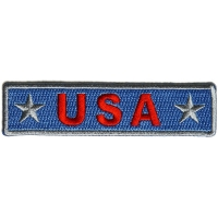 USA Light Blue Patch