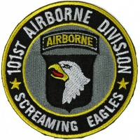 101st Airborne Division Patch Screaming Eagles