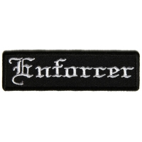 Enforcer Patch In Old English