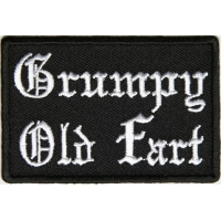 Grumpy Old Far Patch In Old English