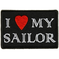 I Love My Sailor Patch