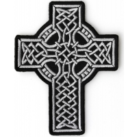 Celtic Design Cross Patch