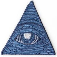 Dollar Bill Eye Masons Watching Patch