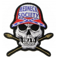 Redneck Society Skull Patch