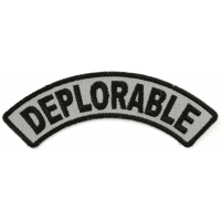 Deplorable Rocker Patch