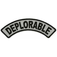 Deplorable Rocker Patch