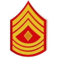 First Sergeant Marines Patch