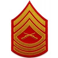 Master Sergeant Marine Patch