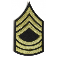 Master Sergeant Army Patch