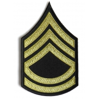 Sergeant First Class Army Patch