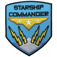 Starship Commander Patch
