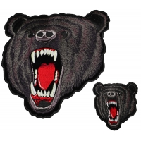 Black Bear Small and Large Patch Set