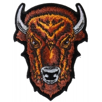 Buffalo Head Small Patch