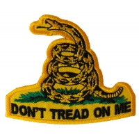 Don't Tread On Me Small Patch | US Military Veteran Patches
